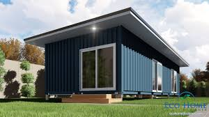 sch2 2 x 40ft single bedroom container house
