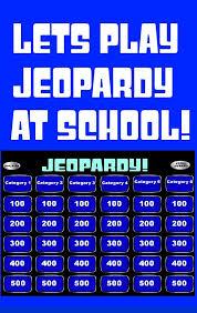 Jeopardy Powerpoint Template Gorgeous Jeopardy Powerpoint Smartboard Template Teaching IdeasTeaching