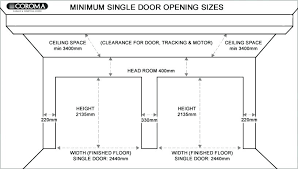 what is the size of a two car garage two car garage door size double home