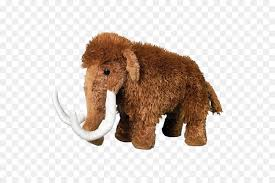 woolly mammoth stuffed s cuddly toys plush elephantammoths stuffed toy png
