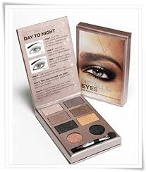 victoria s secret metallic eyeshadow glam shimmer and sheen makeup kit by victoria s secret