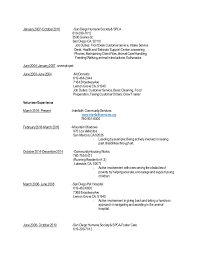 Up To Date Resume A Good Resume Example