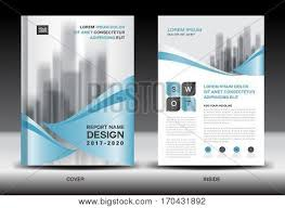 Newspaper Flyer Template Annual Report Vector Photo Free Trial Bigstock