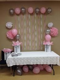 Simple Baby Shower Decor Best 25 Ba Shower Decorations Ideas On Pinterest  Bashower