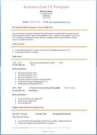 Cook Resume Sample Pdf Classy Pastry Objective On Cook Examples