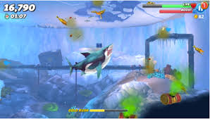 brand new updates to the addictive game hungry shark world  1 the ocean just got bigger