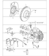 anti vibration damper 36mm porsche 928 944 964 968 993 disc brake front axle 964 carrera 2 1990 94