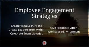 Effective Employee Engagement Strategies Redalkemi