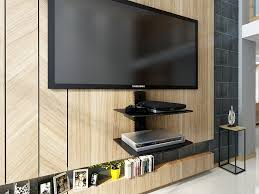 Floating Tv Stand Furniture Woodwaves Floating Tv Stand Wall Mount Entertainment
