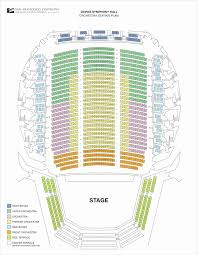 Chicago Symphony Seating Chart 62 Genuine Herbst Theater Seating Chart