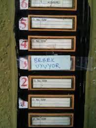 Bu zil yazıları misafirleri kapıdan döndürür Foto Galerisi - 8 - Bursa  Hayat Gazetesi