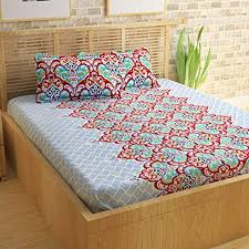100 cotton bed sheets. Fine Sheets StoryHome 100 Cotton Bed Sheet For Double With 2 Pillow Covers Set To 100 Sheets E