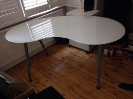 galant ikea glass desk steps help you recognize home excelent table legs