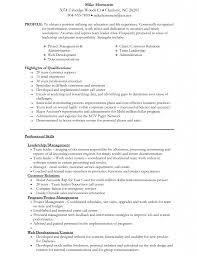 Download Mba Resume Template Haadyaooverbayresort Com