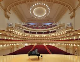 Carnegie Hall Schedule Examples And Forms