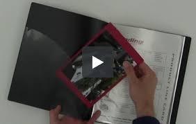 sheet protector book c line black presentation book sheet protector