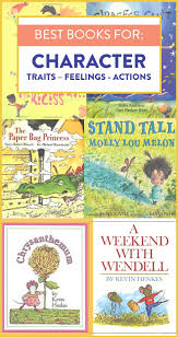 these are some of my favorite mentor texts to help teach character traits we read