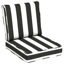 black and white outdoor cushions cabana classic outdoor lounge chair cushion black and white outdoor cushions australia
