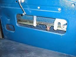window channel and regulator arms