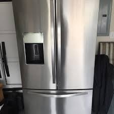 whirlpool gold series refrigerator. 2yr old whirlpool gold series refrigerator (model #wrf989sdam00) 26.8cu ft