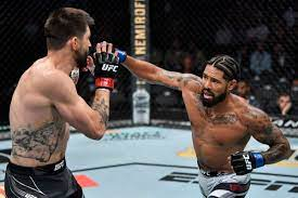 UFC 264 results: Max Griffin lands ...