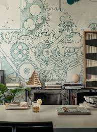 wallpaper pinterest wall and deco steampunk vintage industrial
