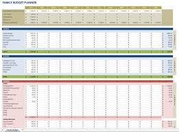 Budget Planning Template Excel Free Financial Planning Templates Smartsheet