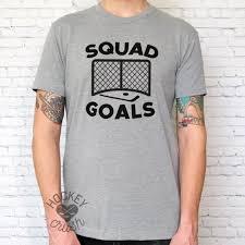 Squad Goals Funny Hockey Shirt