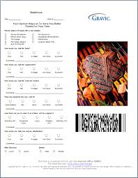 Fast Food Restaurant Survey Example 13 Restaurant Survey Templates