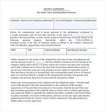 loan and security agreement template. 22 Images of Loan And Security Agreement Template leseriailcom