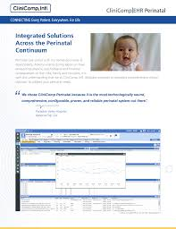 Integrated Solutions Across The Perinatal Continuum