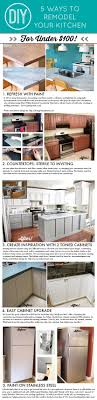 Easy Kitchen Makeover 37 Brilliant Diy Kitchen Makeover Ideas Cabinets Home