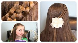 Pretty Girl Hair Style 4strand slideup braid cute girls hairstyles youtube 6694 by wearticles.com