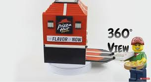 How To Build A Lego Vending Machine Cool LEGO Pizza Dispensers Pizza Hut Vending Machine