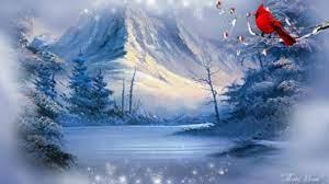 Winter Cardinal Landscape ~*~ wallpaper ...