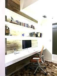 diy floating desk diy home. Floating Desk Diy Office Under Shelf Lighting Modern And . Home E