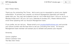 essays tristan harris nytimes claims it s giving a choice to cancel your account