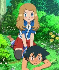 Playing In The Forest [MirrorAmourshipping] by Jitan7 on DeviantArt | Pokemon  ash and serena, Pokemon waifu, Ash and serena