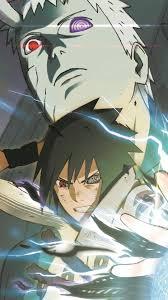Wallpaper Phone - Sasuke And Obito Full HD | Anime, Poster prints, Naruto  shippuden anime