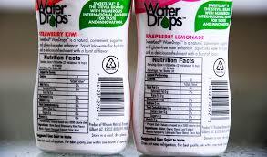 sweetleaf water drops facts