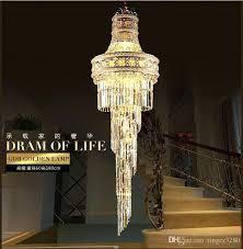 chandelier candle holder big crystal chandelier led candle holder lamps modern long large chandeliers villa living