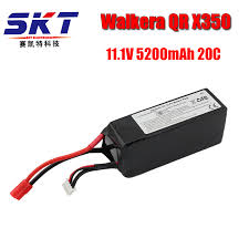 <b>2017 DXF Walkera QR</b> X350 PRO Lipo battery 11.1V 5200Mah 3S ...