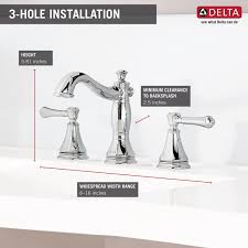Cross Handle Bathroom Faucet Delta Cassidy Standard Bathroom Faucet Double Handle Reviews
