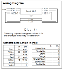 ballast wiring solidfonts 2 lamp electronic ballast wiring diagram nilza net