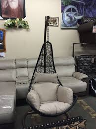 bedroom comfortable black hanging chair for bedroom with cream comfortable covers and silver laminated cozy