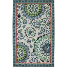 mohawk area rugs 8x10 home escape sea findings area rug mohawk home caravan medallion printed nylon