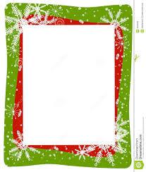 green snowflake border.  Snowflake Red Green Snowflake Frame On Border N