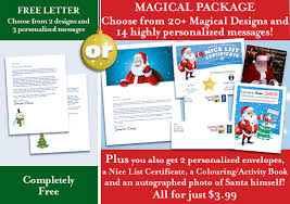 Free Letter From Santa Word Template Easy Free Letters From Santa Claus To Children