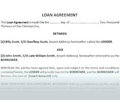Agreement Letter Between Two Parties Legal Contract Form