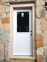 Exterior Door Inserts Wrought Iron And Decorative Glass Panels